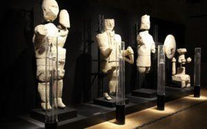 I Giganti di Monte Prama al Museo Archeologico