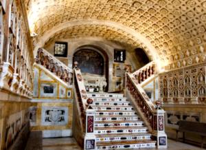La cripta dei martiri nella Cattedrale