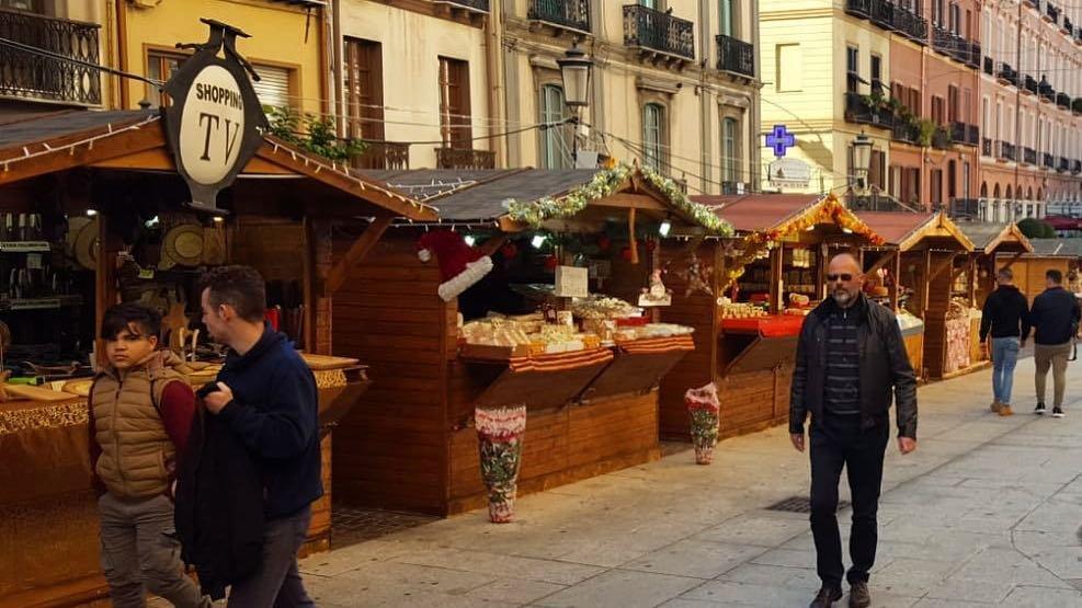 Mercatini nel Corso Vittorio Emanuele II in una foto del blog